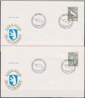 Grönland 1987 FDC Nr.176 - 177 Vögel ( D 4848 ) Günstige Versandkosten - FDC