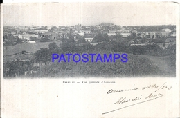 111023 PARAGUAY ASUNCION VIEW GENERAL CIRCULATED TO ARGENTINA POSTAL POSTCARD - Paraguay