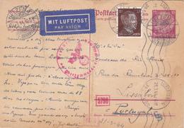 Alemania -Portugal-5 Postais + 5 Envelopes - Otros