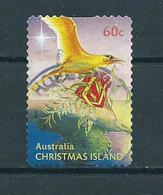 2010 Christmas Island Kerst,noël,weihnachten Self-adhesive Used/gebruikt/oblitere - Christmaseiland