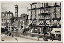 MILANO - LARGO E CHIESA DI SAN BABILA - NON VIAGGIATA - Milano