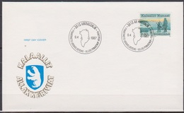 Grönland 1987 FDC Nr.173 Jahr Der Tierfänger ( D 3740 ) Günstige Versandkosten - FDC