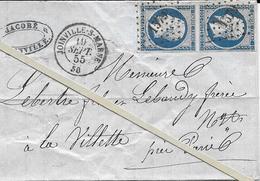 N 14  - Obliteration JOINVILLE SUR MARNE -PC 1579  N 14 - Marcophilie (Lettres)