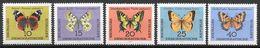 DDR 1964 / MiNr.    1004 - 1008   ** / MNH   (r1756) - Ongebruikt