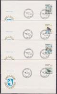 Grönland 1988 FDC Nr.181 - 184 Vögel ( D 3750 ) Günstige Versandkosten - FDC