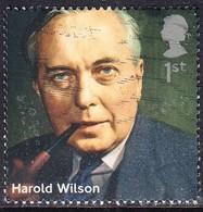 2014 GB - Prime Ministers -  Harold Wilson- SG3643 1st  Used - 1952-.... (Elizabeth II)