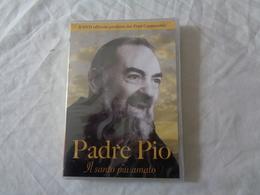 DVD VIDEO: PADRE PIO - IL SANTO PIU' AMATO (IL DVD UFFICIALE PRODOTTO DAI FRATI CAPPUCCINI) SIGILLATO - LEGGI - Documentary
