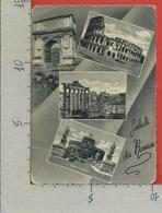 CARTOLINA VG ITALIA - Saluti Da ROMA - Vedutine Multivue - 10 X 15 - ANN. 1950 SPECIALE ANNO SANTO - PANETTONE MOTTA - Saluti Da.../ Gruss Aus...