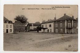 SAINT JEAN LE VIEUX - 64 - Pays Basque - Place Du Jeu De Paume (Fronton De Pelote) - Francia