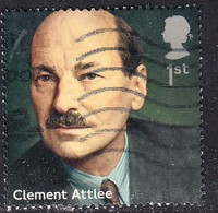 2014 GB - Prime Ministers - Clement Attlee- SG3644 1st  Used - 1952-.... (Elizabeth II)
