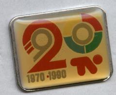 Pin's Média Télévision Télé 1970 1990 - Mass Media