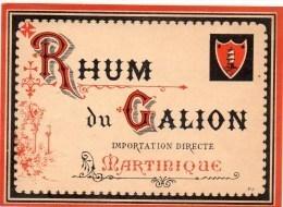 Etiquette De Rhum - Alcools