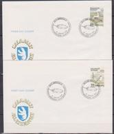 Grönland 1990 FDC Nr.199 - 200 Vögel ( D 3754 ) Günstige Versandkosten - FDC