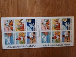 Bloc De 12 Timbres Journée De La Lettre  1998 - Sheetlets
