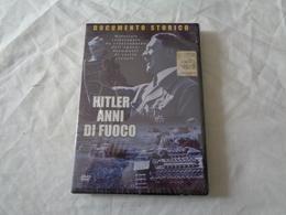 DVD VIDEO: HITLER ANNI DI FUOCO (DOCUMENTO STORICO) SIGILLATO - LEGGI - Storia