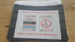 LOT 451883 TIMBRE DE MONACO NEUF** LUXE FACIALE EN EUROS - Monaco