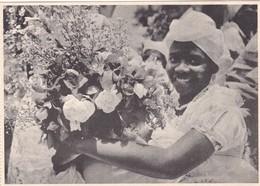 BAHIANA EM TRAJES TIPICOS NAS FESTAS DO FONFIM. DITERTORIA DO ARQUIVO DO SALVADOR-CPA CIRCA 1950s - BLEUP - Salvador De Bahia