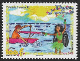 French Polynesia 2008 Dessin D-enfants 1v Complete Unmounted Mint [4/3985/ND] - French Polynesia