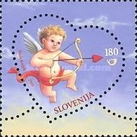 ESLOVENIA 2005 - SLOVENIE - SAN VALENTIN - AMOR - LOVE - AMOUR - YVERT Nº 459** - Eslovenia