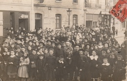 75--PARIS--SORTIE D'ECOLE--VOIR DESCRIPTIF ET SCANNER - Bildung, Schulen & Universitäten