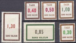 FRANCE - FICTIFS - Lotto Composto Da 6 Valori Nuovi MNH: Yvert 151, 166, Tax 24, Tax 26/28. - Phantomausgaben