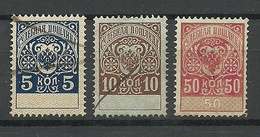 RUSSLAND RUSSIA Gerichtsteuer Court Fee O - 1857-1916 Imperium