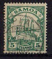 Samoa 1900/1901 // Mi. 8 O - Colonie: Samoa
