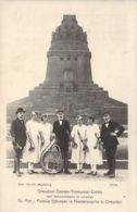 Dresdener Damen-Trompeter-Corps Vor Völkerschlacht Denkmal - Leipzig