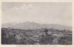 CASTEL FRENTANO-CHIETI-PANORAMA CON VEDUTA DELLA MAIELLA-CARTOLINA VIAGGIATA IL 18-9-1955 - Chieti