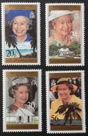 British Indian Ocean Territory   1996 Queen Elizabeth Ii,70th Birthday - Stamps
