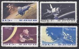Nord KOREA 1974 - MiNr. 1285-1288 Komplett - Raumfahrt