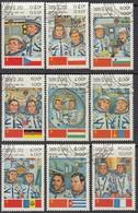 LAOS 1983 - MiNr. 638-646  Komplett - Raumfahrt