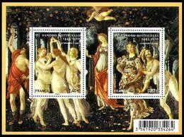 Francia / France 2010: Foglietto Botticelli / Botticelli S/S ** - Other
