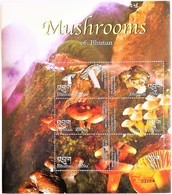 Bhutan 2002** Mi.2331-36. Mushrooms Of Bhutan , MNH [12226] - Pilze