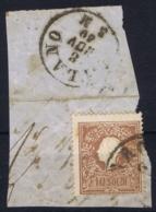 Lombardo Veneto Sa 20 Type I  On Fragment Mantova -> Milano 8-11-1859 - Lombardy-Venetia