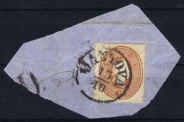 Lombardo Veneto Sa 34 On Fragment Mantova 13-10-1861 - Lombardy-Venetia