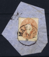 Lombardo Veneto Sa 34 On Fragment Mantova 10-9-1861 - Lombardo-Veneto