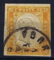 Sardegna Sa 17 Obl./Gestempelt/used   Mi Nr 14 B  CDS Serona  No Thin - Sardinia