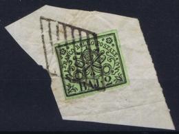 Stato Pontificato Sa 3 Obl./Gestempelt/used On Fragment - Kerkelijke Staten