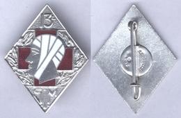 Insigne De La 13e Section D'Infirmiers Militaires - Services Médicaux