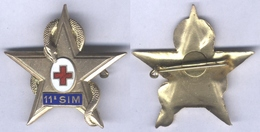 Insigne De La 11e Section D'Infirmiers Militaires - Services Médicaux