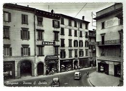 BERGAMO - Piazza S. Spirito - Bon état - Bergamo
