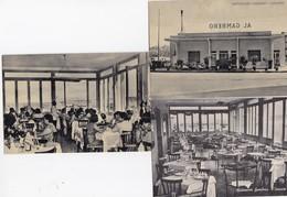 TARANTO-RISTORANTE =GAMBERO=-VESPA PIAGGIO-3 CARTOLINE NON VIAGGIATE ANNO 1950-1955 - Taranto
