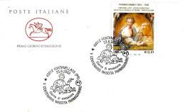 ITALIA - 2003 FONTANELLATO (PR) V Cent. Nascita FRANCESCO MAZZOLA Detto Il PARMIGIANINO Ann. Fdc Su Busta PT - Vacanze & Turismo