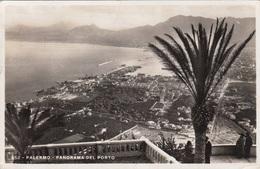 PALERMO - Panorama Del Porto, Fotokarte Gel.1936, 4 Fach Frankiert - 1900-44 Victor Emmanuel III.