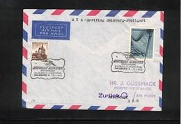 Germany / Deutschland 1960 Austrian Airlines Erstflug Salzburg - Stuttgart  Interessanten Brief - Premiers Vols AUA