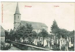 Luxembourg - Pétange - L'église. édit Bellwald, Datée 1907. Tb étaty. - Pétange