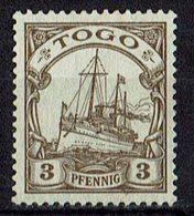 Togo 1909/1919 // Mi. 20 (*) - Kolonie: Togo