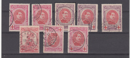 Lot De Timbres  T  Beaux Cachets - 1915-1920 Albert I