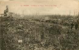 250419C - GUERRE MILITARIA BOMBARDEMENT - BELGIQUE KEMMEL Ruines Du Village - Heuvelland